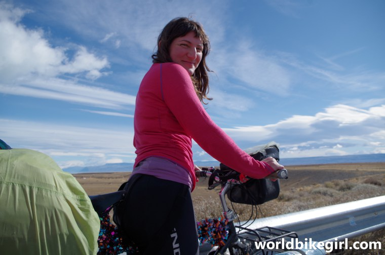World Bike Girl in South America | The Bohemian Diaries