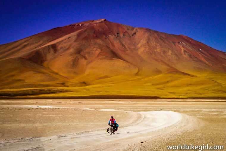 World Bike Girl in Bolivia | The Bohemian Diaries